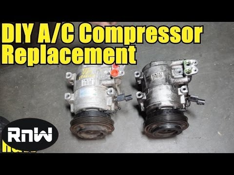How to Remove and Replace an AC Compressor - High Detail