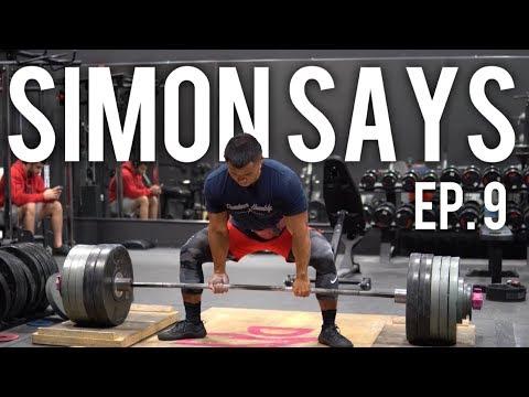Going Heavier | Simon Says 600 Ep. 9