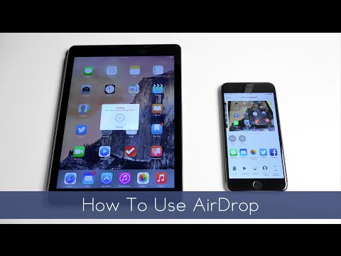 How to use AirDrop