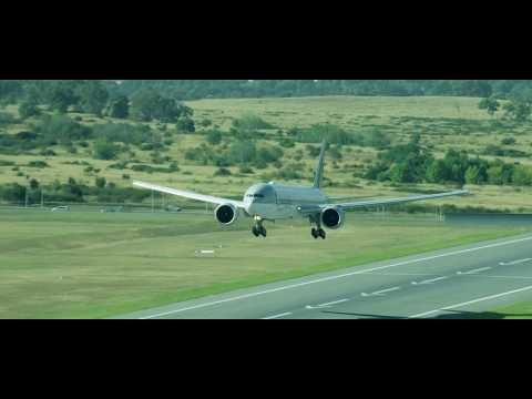 Qatar Airways Inaugural Flight to Canberra, Australia