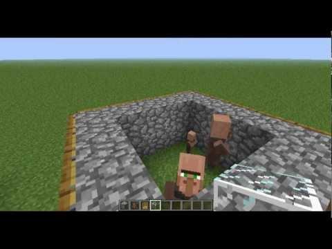 Minecraft 1.8.8 + Lower Versions - Breeding Villager Tutorial - DavidiansLair