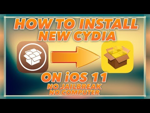 HOW TO INSTALL NEW CYDIA ON IOS 11/11.0.1 WITHOUT JAILBREAK OR COMPUTER