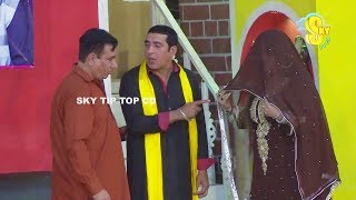 Zafri Khan With Nasir Chinyoti And Iftikhar Thakur Stage Drama Dhilay Aashiq Full Comedy Clip