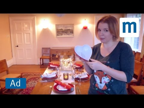 Decorating the table with Helpful Mum | Homebase