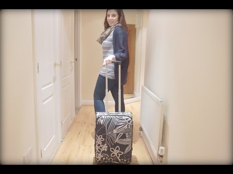 How I Pack My Hand Luggage/Cabin Bag for City Trip (RyanAir friendly!)