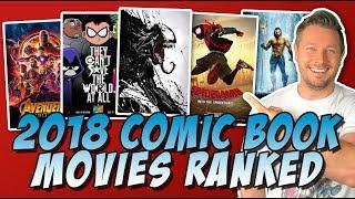Download All 8 2018 Comic Book Movies Ranked! (MCU, DCEU, X-Men & More) Video