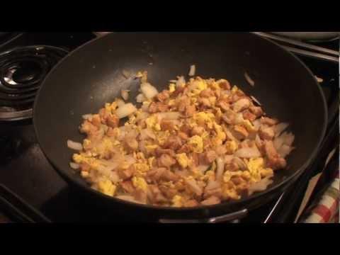 How to make Chicken Fried Rice (Benihana Style)