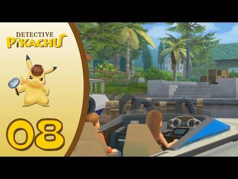 Detective Pikachu #8: ¡De viaje a Isla Capucci!