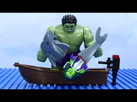LEGO HULK SHARK ATTACK