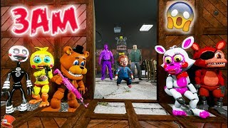 DO NOT PLAY FNAF KINDERGARTEN AT 3AM! (GTA 5 Mods For Kids RedHatter)