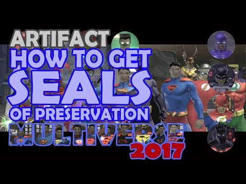 DCUO; How to get Seals of Preservation