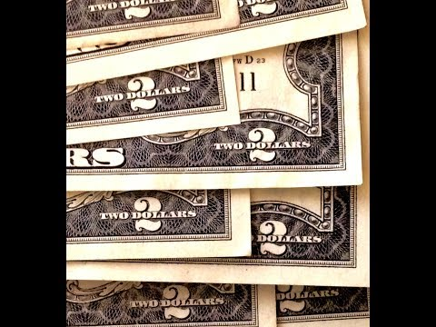Vintage United States $2 Bills To Look For