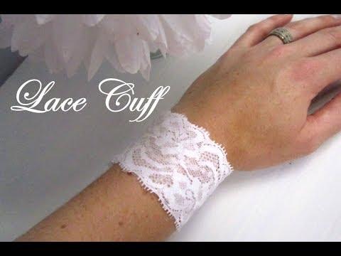 {DIY Fashion} DIY Lace Cuff Bracelet