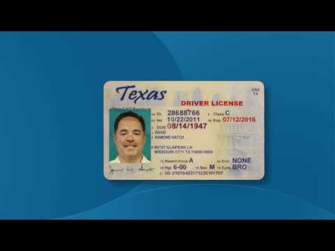 Texas Valid Voter Identification