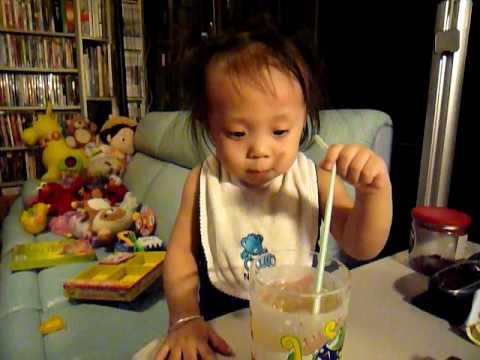 Ashleye's 1st Taste of Ice Tea~cool