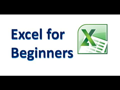 Excel for Beginners: First Steps in Microsoft Excel