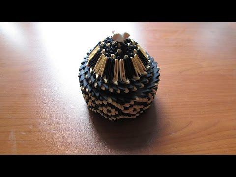 3D Origami Jewellery Box Tutorial #3