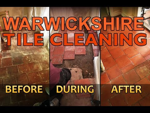 Rugby Tile Cleaning - Warwickshire Tile Cleaning & Tile Hard Floor Cleaning Specialists in Rugby