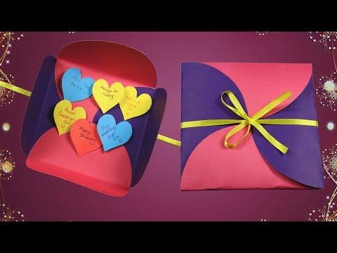 DIY Birthday Card - Easy Handmade Birthday Card - Birthday greeting cards