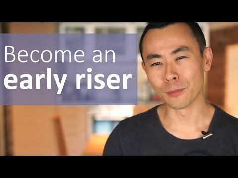 How to become an early riser and be a morning person | Hello Seiiti Arata 16