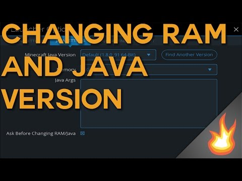 Changing RAM and Java Version | Technic Launcher Tutorial