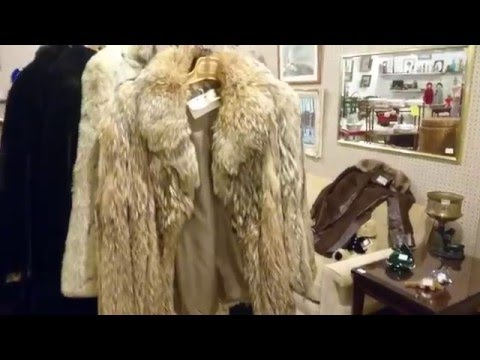 Antique Furs Recycle Reuse  DIY Strathroy Antique Mall