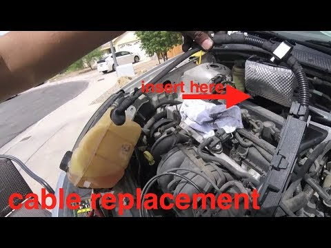 Why I love Ford [battery starter cable replacement] Ford FuctUs (focus) Fix it Angel