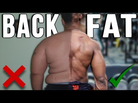 Get Rid Of (BACK FAT) FAST | No more Back Rolls !