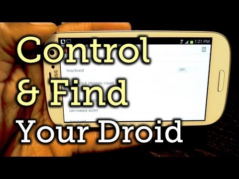 Control & Track Your Lost or Stolen Samsung Galaxy S3 Remotely [How-To]