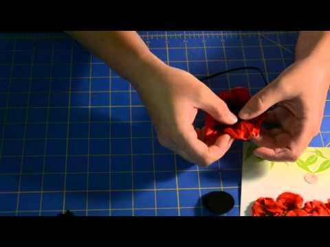How To Make A Skinny Flower Headband