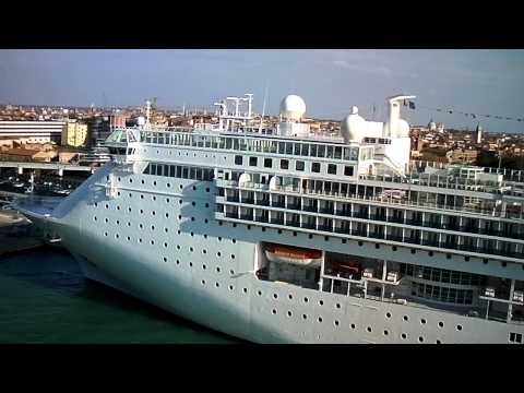 Venice Cruise Ship terminal (Video 2) by jonfromqueens