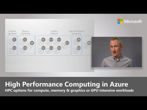 High Performance Computing (HPC) options in Azure