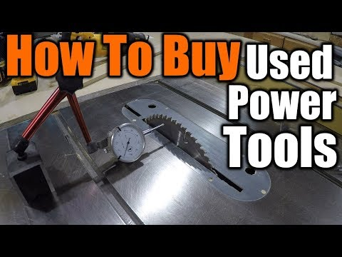 How To Buy Used Power Tools | THE HANDYMAN |