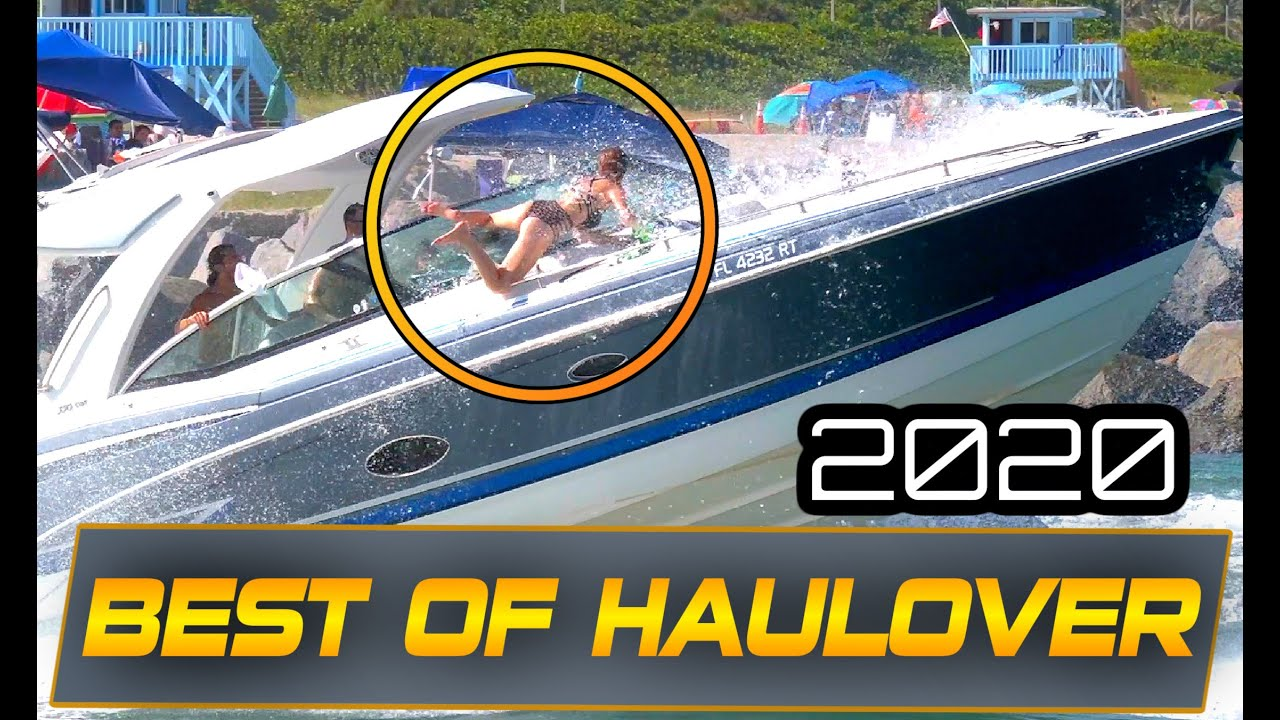 BOATS IN WAVES YOU WOULDN'T BELIEVE  | HAULOVER  BEST OF 2020  @Boat Zone
