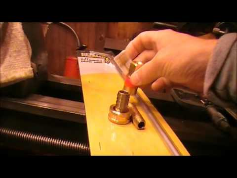 making a Tractor radiator cleaning tool part 1