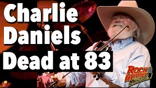 Country-Rock Legend Charlie Daniels Dead at 83