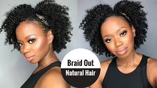 Tutorial: Braid Out Was A Success On My Natural Hair! Long And Luxe As I Am