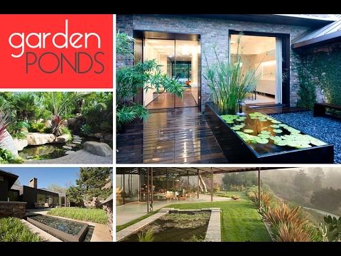 Garden Pond Design Plans Ideas UK