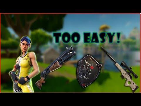 Clutch Trap! End-game | Fortnite
