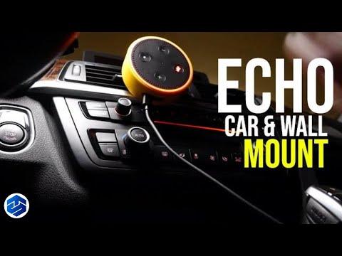 KIWI Design Car Mount And Wall Mount Holder Case for Echo Dot 2