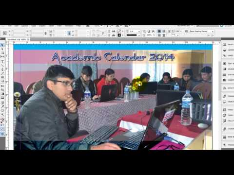 How to make Table Calendar and Published to PDF in Adobe Indesign?