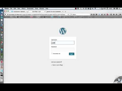 WordPress on Microsoft Azure Setup Bitnami Virtual Machine