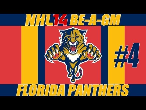 NHL 14: GM Mode Commentary - Florida Ep.4
