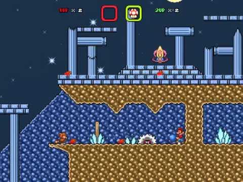 Super Mario Bros X. (Battle Level) Spear Pillar