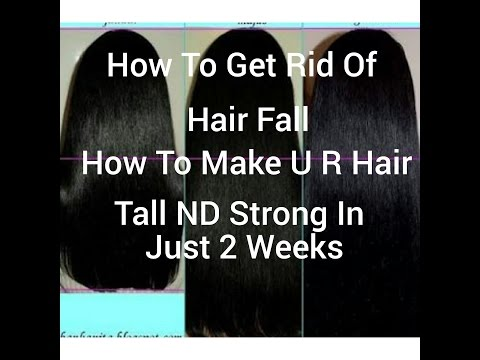 How to get rid of hair fall, and how to make u r hair strong nd sliky , dandruff free in jus 2weeks