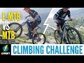 E MTB Vs XC MTB Climbing Challenge | Which Mountain Bike Is Better?