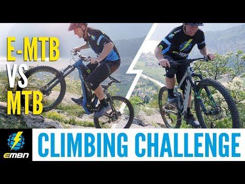 E MTB Vs XC MTB Climbing Challenge | Which Mountain Bike Is Better?