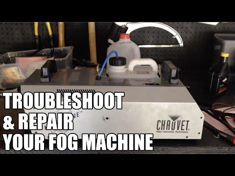 Fog Machine Troubleshooting and Repair