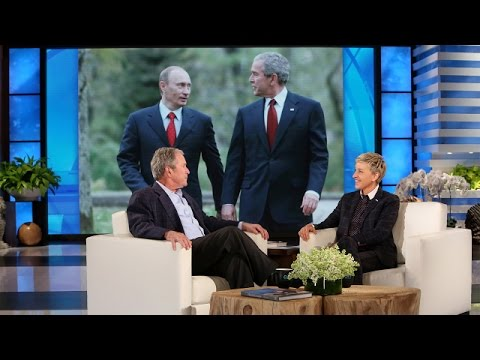 President George W. Bush's Thoughts on Putin and the Press