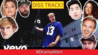 Jake Paul Diss Track! #DramaAlert Logan Paul EVICTED! Comedyshortsgamer vs Sidemen & Team 10!